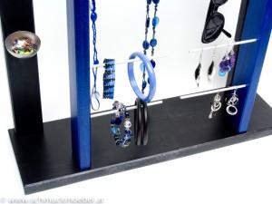Tor schwarz-blau