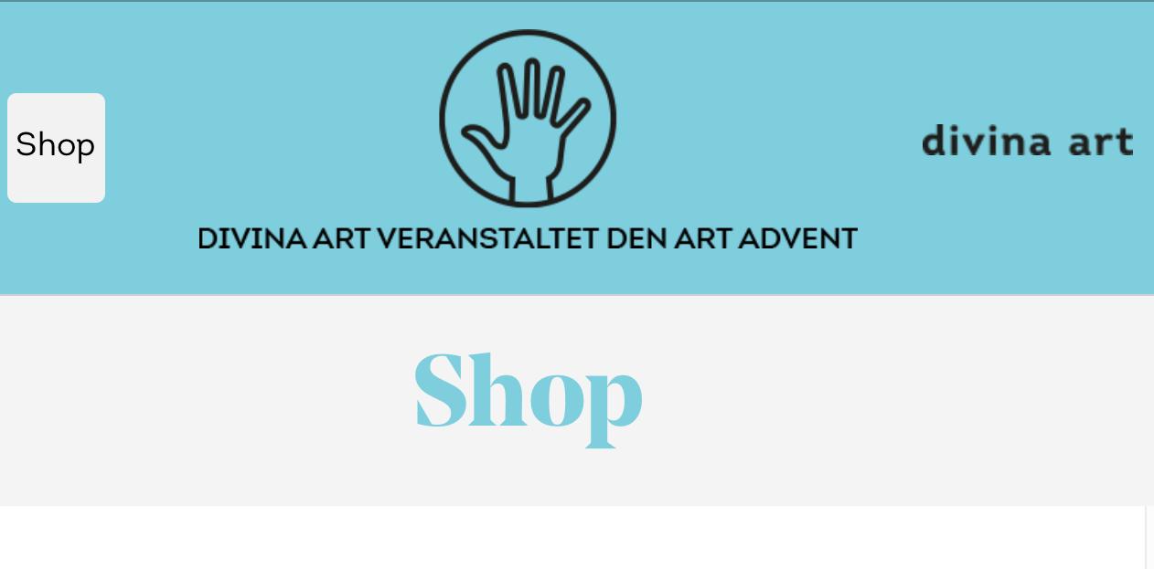 Titelbild des divina art Online-shops