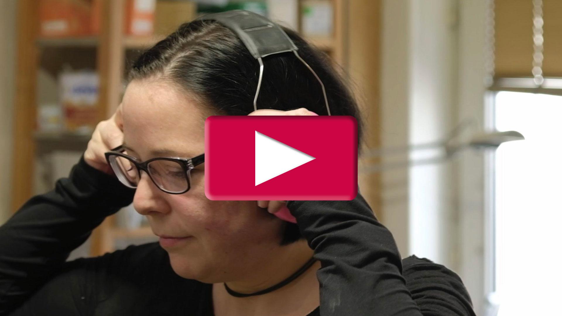 Bildausschnitt Imagevideo Sonja Steidl